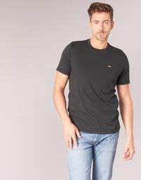 Textil Muži Trička s krátkým rukávem Levi's SS ORIGINAL HM TEE Černá