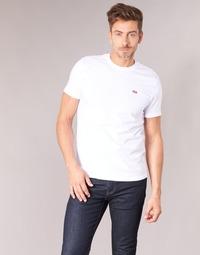Textil Muži Trička s krátkým rukávem Levi's SS ORIGINAL HM TEE Bílá