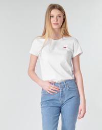 Textil Ženy Trička s krátkým rukávem Levi's PERFECT TEE Bílá