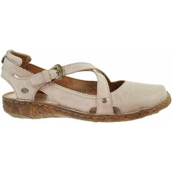 Boty Ženy Baleríny  Josef Seibel Dámské sandály  79513 95230 creme Béžová