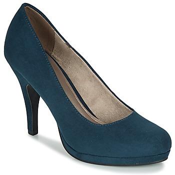 Boty Ženy Lodičky Tamaris VALUI Tmavě modrá