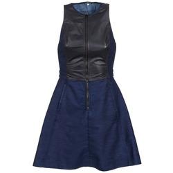 Textil Ženy Krátké šaty G-Star Raw SUTZIL DRESS Tmavě modrá / Černá
