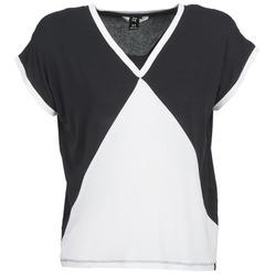 Textil Ženy Trička s krátkým rukávem Nikita NEWSON Černá / Bílá