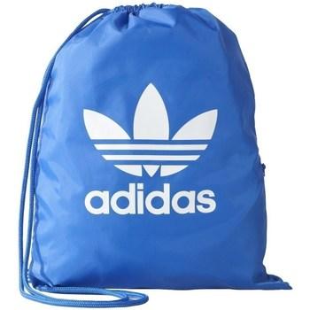 Taška Tašky adidas Originals Gymsack Trefoil Modré