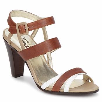 Boty Ženy Sandály Karine Arabian JOLLY Zlatohnědá / Béžová / Bílá