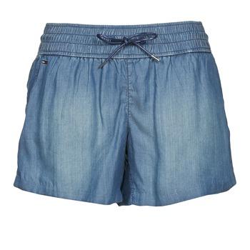 Textil Ženy Kraťasy / Bermudy Tommy Jeans TINA Modrá