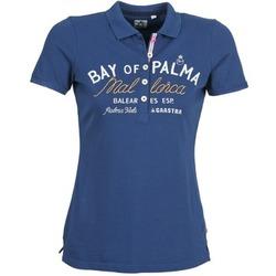 Textil Ženy Polo s krátkými rukávy Gaastra MISTY Modrá