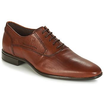 Boty Muži Šněrovací společenská obuv Carlington JIPINO Zlatohnědá