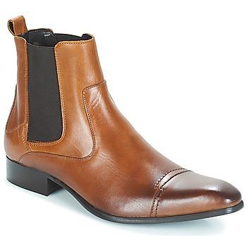 Boty Muži Kotníkové boty Carlington ERINZI Zlatohnědá