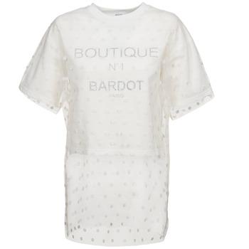 Brigitte Bardot Mikiny ANASTASIE - Bílá