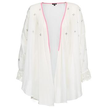 Textil Ženy Svetry / Svetry se zapínáním Brigitte Bardot APOLLINE Bílá