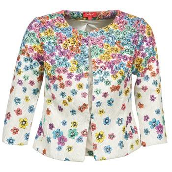 Textil Ženy Saka / Blejzry Derhy JOCASTE Krémově bílá