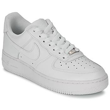 Nike Tenisky AIR FORCE 1 07 LEATHER W - Bílá