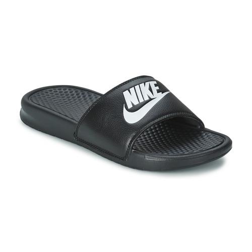 Nike BENASSI JUST DO IT Černá - Doručení zdarma se Spartoo.cz ... 57572a8cec