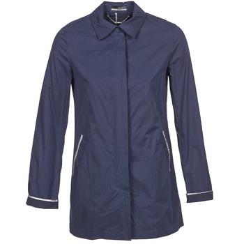 Textil Ženy Pláště La City FELICIANA Tmavě modrá