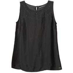 Textil Ženy Tílka / Trička bez rukávů  La City LUCRETIA Černá