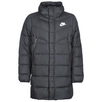 Textil Muži Prošívané bundy Nike BRENLA Černá