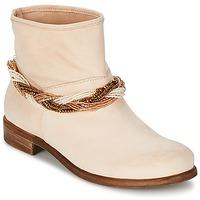 Boty Ženy Kotníkové boty Tosca Blu TETHYS Béžová