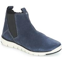 Boty Chlapecké Kotníkové boty Geox J XUNDAY BOY Tmavě modrá