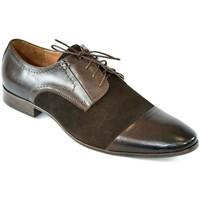 Boty Muži Šněrovací polobotky  & Šněrovací společenská obuv I-Guana Pánske kožené hnedé poltopánky SENAUL hnedá