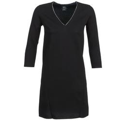 Textil Ženy Krátké šaty Majestic BRUNEHILDE Černá
