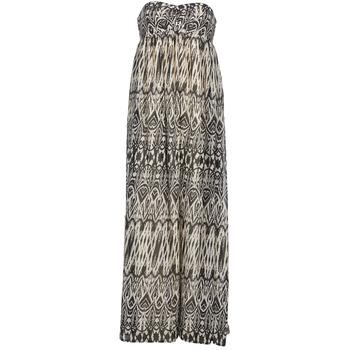 Textil Ženy Společenské šaty Le Temps des Cerises GOTA Šedá / Bílá