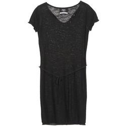 Textil Ženy Krátké šaty Le Temps des Cerises MOJITO Černá