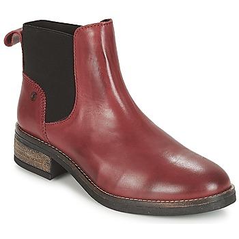 Boty Ženy Kotníkové boty Casual Attitude JELIA Červená