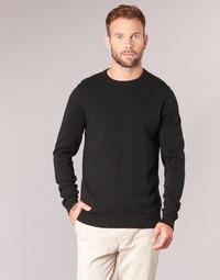 Textil Muži Svetry Jack & Jones JJEBASIC Černá