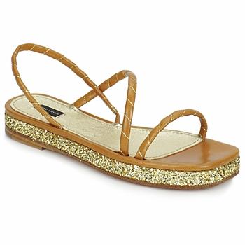 Boty Ženy Sandály Marc Jacobs MJ16405 Hnědá / Zlatá
