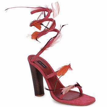 Boty Ženy Sandály Marc Jacobs MJ16385 Růžová