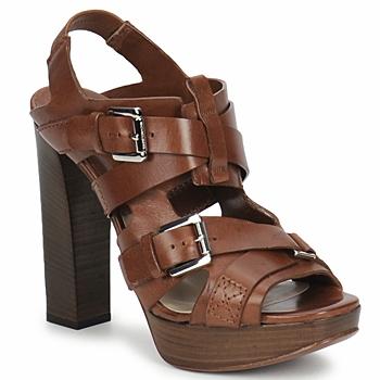 Boty Ženy Sandály Michael Kors MOWAI Hnědá