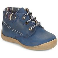 Boty Chlapecké Kotníkové boty André NOE Tmavě modrá