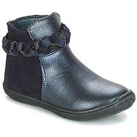 Boty Dívčí Kotníkové boty André HELOISE Tmavě modrá