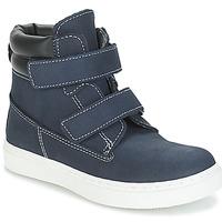 Boty Chlapecké Kotníkové boty André ALESSIO Tmavě modrá