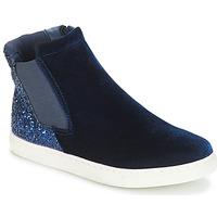 Boty Dívčí Kotníkové boty André SISSI 2 Tmavě modrá