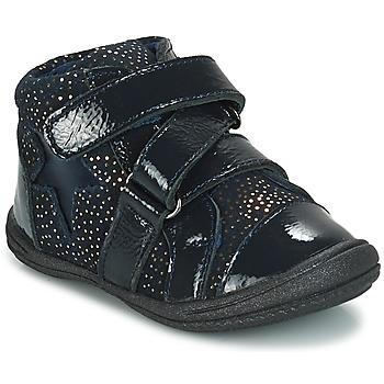 Boty Dívčí Kotníkové boty André STAR Tmavě modrá