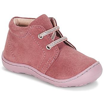 Boty Dívčí Kotníkové boty André PALE Růžová