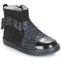 Boty Dívčí Kotníkové boty André NUIT Černá