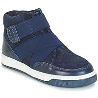 Boty Chlapecké Kotníkové boty André CUBE Tmavě modrá