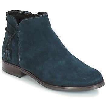 Boty Ženy Kotníkové boty André BILLY Modrá