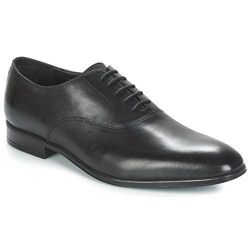 Boty Muži Šněrovací společenská obuv André PALERMO Černá