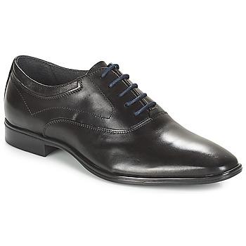 Boty Muži Šněrovací společenská obuv André MILORD Černá
