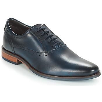 Boty Muži Šněrovací společenská obuv André LISTING Modrá