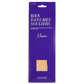 Doplňky  Doplňky k obuvi André SEMELLE CUIR Béžová