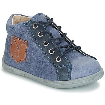 Boty Chlapecké Kotníkové boty André POCHE Modrá