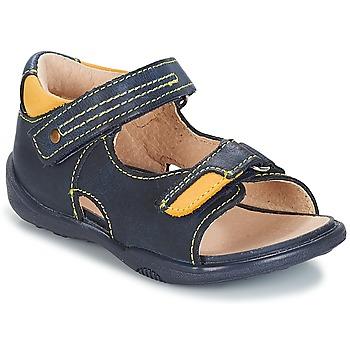Boty Chlapecké Sandály André VOYAGE Tmavě modrá