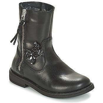 Boty Dívčí Kotníkové boty Citrouille et Compagnie JARINDA Černá