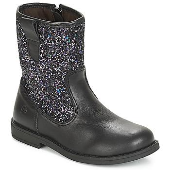 Boty Děti Kotníkové boty Citrouille et Compagnie JUCKER Černá