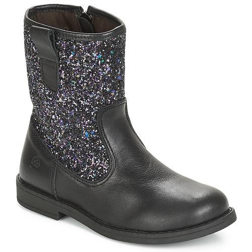 Boty Dívčí Kotníkové boty Citrouille et Compagnie JUCKER Černá